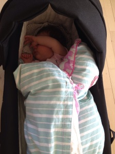 En sovende baby
